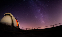 observatory (dr3zga) Tags: observatory stars galaxy milkyway night canon 350d sigma 10mm fisheye f28 sky astrophotography astro
