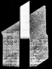 Pillar of Light (Mac McCreery) Tags: birminghamcitycentre pillar light shadow contrast brickwork frame helios44m4 pentaxk5iis digbeth
