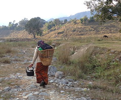 Beginning the Long Journey Home (stewickie) Tags: nepalculture peacecorps didi nepali walking mothersgroup