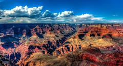 Grand Canyon (Mario De Leo) Tags: grandcanyon arizona sky hdr rocks clouds nature nationalpark wonder maravilla can gran cielo nubes rocas usa eeuu turismo tourism parque nacional canon rebel t2i 550d mariodeleo accrama