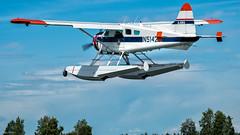 Am Lake Hood, Anchorage, Alaska (wal50wol) Tags: alaska nordamerika floatplane usavereinigtestaatenvonamerika generalaviation insidepassagealaska2016 wasserflugzeug anchorage usa us