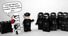 First Order Clone Army (OB1 KnoB) Tags: lego star wars mini minifig minifigure minifigurine fig figure figurine custom customs stormtrooper general gnral hux kylo ren ben first order premier ordre force awakens le rveil de la theforceawakens episode episode7 episodevii 7 vii quote perhaps supreme leader snoke should consider using clone army perhapssupremeleadersnokeshouldconsiderusingaclonearmy