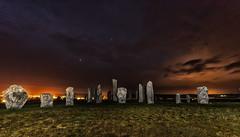 The Callanish Stones (bradders29) Tags: callanish callanais standingstones lewis night lightpainting scotland island