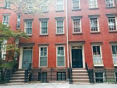 19th Century - NYC (verplanck) Tags: nyc 19thcentury bricks townhouses architecture greenwichvillage