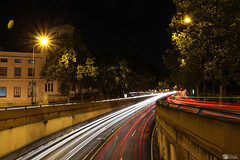 Night (ssardin) Tags: madrid principepio trafico night car light lights cars art