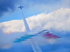 DSC_5629 (sauliusjulius) Tags: nato days ostrava 2016 czech air force september 17  18 leos janacek airport osr lkmt frecce tricolori 313 gruppo addestramento acrobatico aermacchi mb339