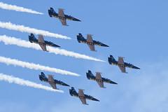 Breitling Jet Team (jbp274) Tags: nkx knkx miramar mcasmiramar airshow display airport airplanes breitling formation aero l39 albatros