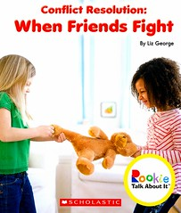 Conflict Resolution:  When Friends Fight (Vernon Barford School Library) Tags: 9780531213810 conflict conflicts conflictresolution fight fighting fights friendship friends interpersonalconflict lizgeorge liz george rookietalkaboutit rookie talkaboutit character charactereducation education socialskills conductoflife values virtues readinglevel grade2 rl2 vernon barford library libraries new recent book books read reading reads junior high middle vernonbarford fiction fictional novel novels paperback paperbacks softcover softcovers covers cover bookcover bookcovers characterstrength strengthofcharacter