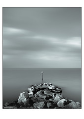 Balance (in explore) (derek_michalski) Tags: derekmichalskiphotography fineartphotography uk kent water sky nikon d800 leefilter longexposure le monochrome bw blackandwhite biancoynegro frame fav supperstopper nd naturaldensity leefilters inexplore
