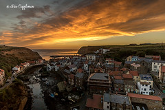 IMG_0063-Edit-2_edited-1 (Bev Cappleman) Tags: staithes seascape sunrise village northyorkshire northeastcoast northeast clouds cloud staithesharbour staithesbeck