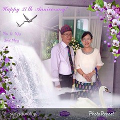 "by @sengdorothy ""Blessed 27th Anniversary to... (kachinlifestories) Tags: life family love mom model singapore dad nu sweet anniversary journey wa endurance partner blessed 27th role faithful fruitful kachin uploaded:by=flickstagram kachinlifestories klssingapore photorepostapp chyejuhtingnu kachincouple kachinfamily chyejushakawn dinghku hkristan instagram:photo=711237241306300976294246487 sengdorothy"