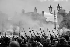 BATTLE of NEWARK, 1646, NOTTINGHAMSHIRE_DSC_2078_LR_70 (Roger Perriss) Tags: blackwhite shots smoke civilwar d750 muskets newark reenactment 2015 soldiersmarketsquare