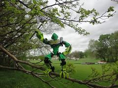 Lewanature 017 (Toa Banshee) Tags: trees tree nature toy toys lego air master jungle bionicle toa lewa lewanature