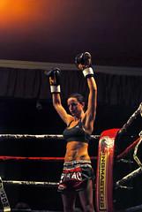 kelly Haynes (knicknac) Tags: girls fight kick ring thai winner punch dojo boxing total muaythai rampage hernebay k1 ringmasters totaldojo girlfighters