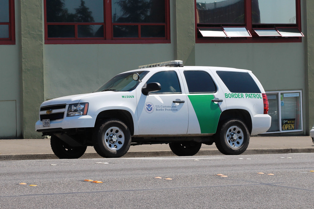 New Border Patrol Car Michigan