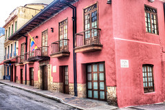 La Casa de la Botica (Gigin - NoDigital) Tags: street buildings colombia bogota objects places transportation geography candelaria locations centralandsouthamerica