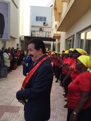 PSD em Visita Oficial a Luanda