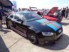 Audi A5 Sportback (911gt2rs) Tags: show black low martini meeting schwarz treffen stance sline mivw