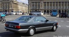 Mercedes C126 560 SEC 1987 (XBXG) Tags: auto old paris france classic car germany deutschland mercedes automobile 1987 voiture german frankrijk sec coupe v8 coup deutsch ancienne 560 duits w126 allemande 560sec c126 mercedesc126 9928py92