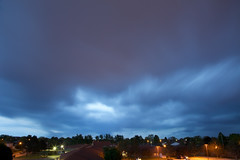 long exposure storm (viewsfromthe519) Tags: blue trees sky ontario canada storm weather clouds grey evening long exposure cumulus rolling stthomas towering saintthomas latespring