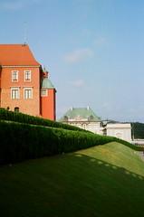 Royal Castle - Zamek królewski Warszawa (Analog World Thru My Lenses) Tags: castle fuji royal yashica warszawa xtra zamek fxd królewski