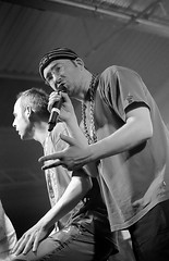 Goldie Lookin Chain (lentil_curry) Tags: musician music musicians fuji live stage events livemusic band hampshire fujifilm southampton venue fujinon glc goldielookinchain xseries xm1 enginerooms