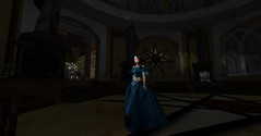 Sept (The Mischievous Rya Korpov) Tags: life blue game screenshot focus candles raw play character pray dragons sl landing kings fantasy secondlife second got gown dod sept rp dynasty jewel candlelit role thrones roleplay baratheon kyanna