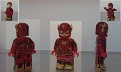 The Flash (josh tittarelli) Tags: west flesh justice dc lego flash miller cw ezra custom universe cinematic wally league minifigures flezra