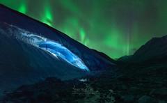 Athabasca Ice Burning (Javier de la Torre Garca) Tags: canada de rockies canadian hielo northernlights auroraborealis athabasca cueva icecave rocosas canadienses auroraboreal javierdltcom javierdltes