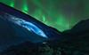 Athabasca Ice Burning (Javier de la Torre García) Tags: canada de rockies canadian hielo northernlights auroraborealis athabasca cueva icecave rocosas canadienses auroraboreal javierdltcom javierdltes