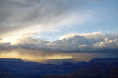 DSC_0006 powell point storm at sunset hdr 850 (guine) Tags: sunset storm clouds rocks grandcanyon canyon hdr luminance grandcanyonnationalpark qtpfsgui