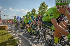 Giro 2 (stevefge (away travelling)) Tags: street people netherlands sport yellow race nijmegen cycling candid nederland bikes bicycles giroditalia nederlandvandaag reflectyourworld