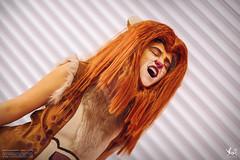 DSCF6734 - EDIT (Cat&Crown) Tags: london expo cosplay dante naruto comicon excel scythe mcm akatsuki cetre hidan