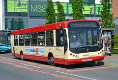 Halton Transport TBS Dart 52 PN05SYH - Widnes (dwb transport photos) Tags: bus dart widnes eastlancs myllennium transbus haltontransport pn05syh