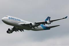 Boeing 747-400 Corsair F-GTUI cn 26875/931 (Guillaume Besnard Aviation Photography) Tags: airshow corsair canoneos boeing747 boeing747400 cerny fertalais aeroweb ajbs fgtui letempsdeshlices cernylafertalais plateaudecerny aerowebfrnet cn26875931 fertalais2016 fertalaisairshow pictaro