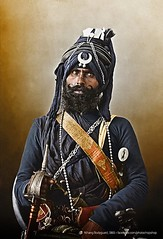 Sikh bodyguard, late 19th century, India. [750 x 1100] #HistoryPorn #history #retro http://ift.tt/1WMUlfG (Histolines) Tags: india history century x retro timeline late sikh 19th bodyguard 1100 750 vinatage historyporn histolines httpifttt1wmulfg