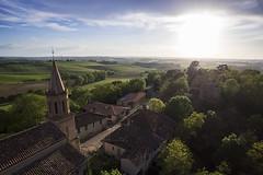 My Childhood town (Robin Danos) Tags: 3 landscape pro phantom rance drone gers dji