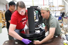 "Reinstalling the primary mirror • <a style=""font-size:0.8em;"" href=""http://www.flickr.com/photos/27717602@N03/26981819871/"" target=""_blank"">View on Flickr</a>"