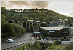 Dawn Chorus (david.hayes77) Tags: dawn yorkshire viaduct oil tug bitumen freight westyorkshire tanks 2016 lydgate mirrlees calderdale dawnchorus class60 caldervalley 60047 a646 6m32 lydgateviaduct