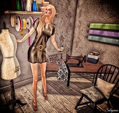 Sabrymoon wearing Belles Parisiennes & Chambre Rose Stacy dress and shoes @ The Instruments (Two Too Fashion) Tags: sexy fashion style sensual secondlife casual chic stylish elegance femaleshoes theinstruments casualchic fashiondress highheelsshoes secondlifemodel elegantdress femaledress femaleoutfit chicoutfit chambrerose bellesparisiennes stacydress stacyshoes