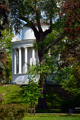 Saxon Garden / 'Temple of Vesta' II (Images George Rex) Tags: white architecture poland warsaw corinthian rotunda warszawa neoclassical pl greektemple templeofvesta publicpark saxongardens henrykmarconi imagesgeorgerex photobygeorgerex