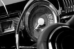 perplexity.... (Stu Bo.. tks for 8 million views) Tags: light blackandwhite bw usa sunlight ford beautiful classiccar vintagecar shadows interior machine oldschool instrument arrow wtf speedometer confusion steeringwheel abnormal dail showcar perplexity vintageautomobile blackwhitephotos worldcars certifiedcarcrazy sbimageworks howfastamigoing