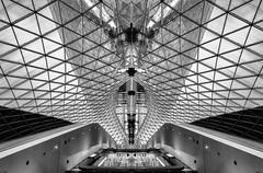 My Zeil (www.carstenvulpius.de) Tags: zeiss frankfurt sony struktur architektur weitwinkel schwarzweis myzeil variotessartfe41635