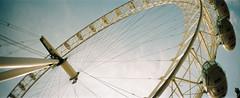 London Eye (Bora Horza) Tags: london film londoneye ferriswheel analogue bigwheel riverthames tomography sprocketrocket