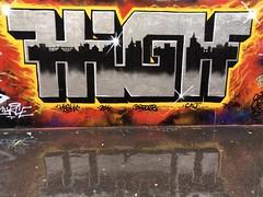 20-06-16 Rue Ordener, Paris 18 (marisan67) Tags: street streetart paris detail graffiti photo photographie streetphoto 365 rue pola murs dtail iphone clich 2016 instantan 365project iphonography iphonegraphy iphonographer polaphone iphonographie iphoneographie iphone5s iphone5se