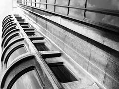 Camden Town Hall Annexe (Gary Kinsman) Tags: camdentownhallannexe camdentown bw blackwhite 2007 eustonroad wc1 architecture brutalism brutalist london