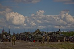 2CR Dragoon Ride II in Panavezys, Lithuania June 12, 2016 (2d Cavalry Regiment) Tags: trooper europe nato usarmy dragoon stryker 2cr usareur eucom taskforcesaber 2dcavalryregiment strongeurope dragoonride alliedstrong 4thsquadron2dcavalryregiment dragoonrideii 12thpanzerbrigade