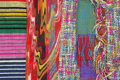 Scarves of the World - Getty (JebbiePix) Tags: scarf fabric getty scarves accessory