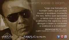 Mohammad Ali (Arresala - Centro Islmico no Brasil) Tags: usa america muslim islam faith ali esporte frases mohammad boxe f fiel citaes campeo isl muulmano islo ensinamento