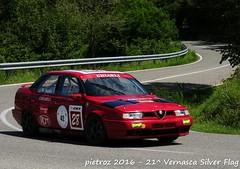 DSC_6544 - Alfa Romeo 155 Q4 Superturismo - 1992 - Bodini Marcello - CAMSC (pietroz) Tags: silver photo foto photos flag historic fotos pietro storico zoccola 21 storiche vernasca pietroz